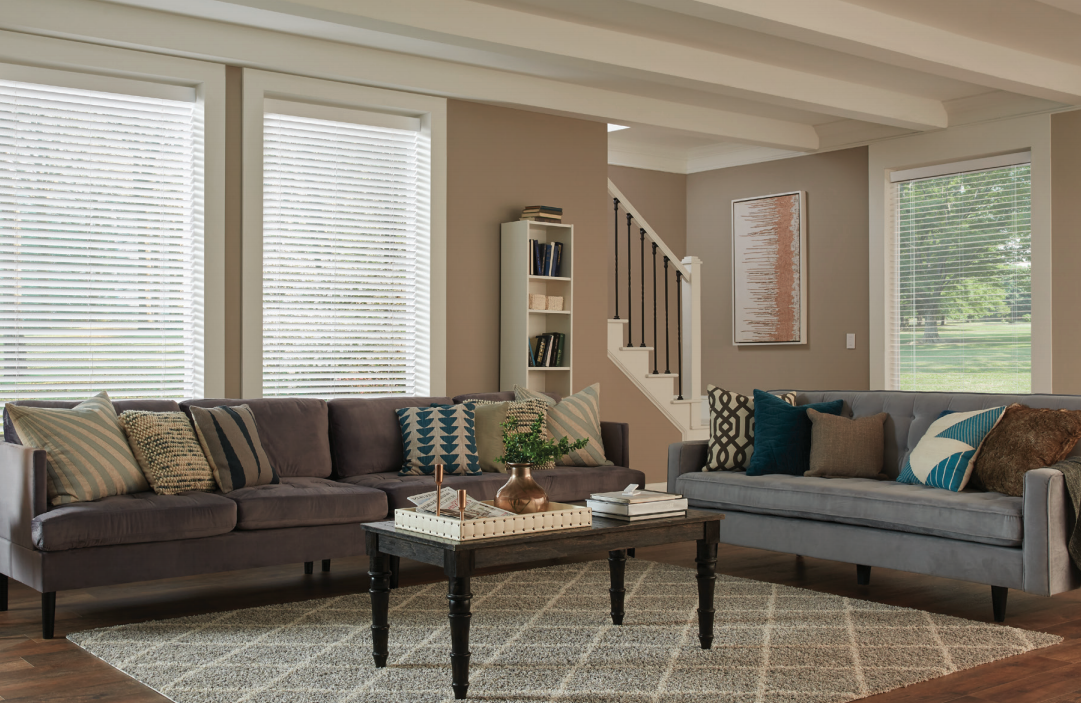 Lutron Wood Blinds