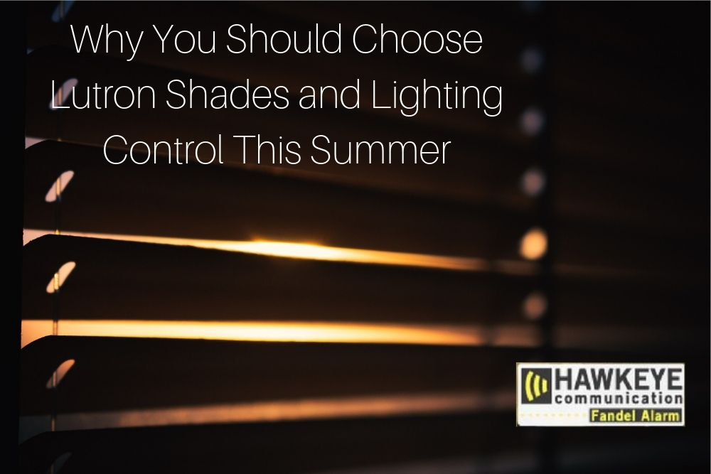 Why You Should Choose Lutron Shades and Lighting Control This Summer